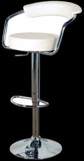 Jupiter Bar Stool (Milk KD - sold in 2s)