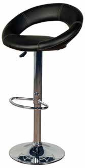 Luna Bar Stool (Black KD - sold in 2s)