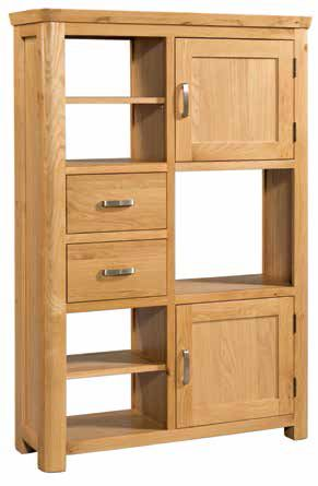 Trevi Oak High Display Unit