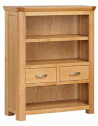 Trevi Oak Low Bookcase