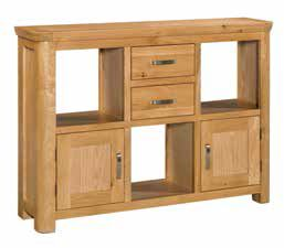 Trevi Oak Low Display Unit