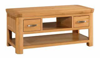 Trevi Oak Standard Coffee Table
