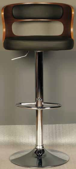Zeta Bar Stool (Black)
