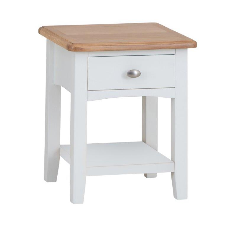 Alpine 1 Drawer Lamp Table