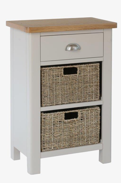 Malvern 1 Drawer 2 Basket Unit